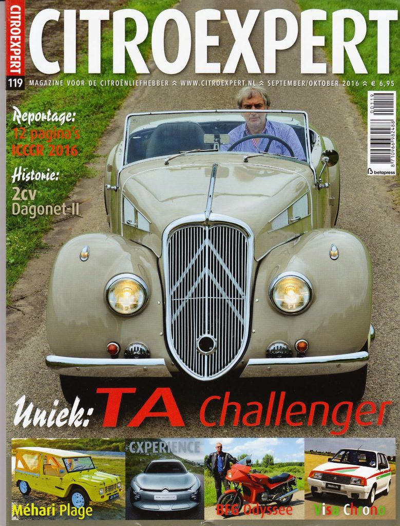 Cover Citroexpert Magazine